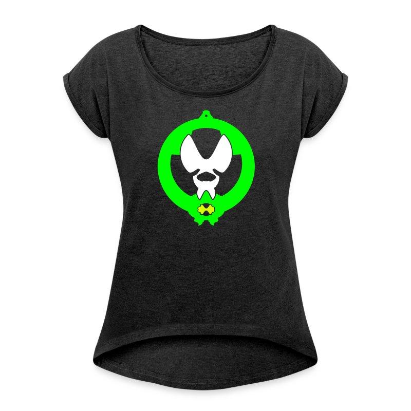 Hunter - Frauen T-Shirt mit gerollten Ärmeln