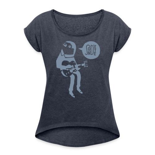 Le son d'été birdy jam 2016 (W) - Frauen T-Shirt mit gerollten Ärmeln