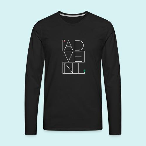 Advent - Männer Premium Langarmshirt