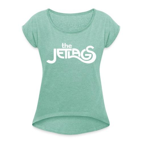 Die Schlichte - Frauen T-Shirt mit gerollten Ärmeln