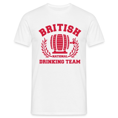 British national drinking team - Men's T-Shirt