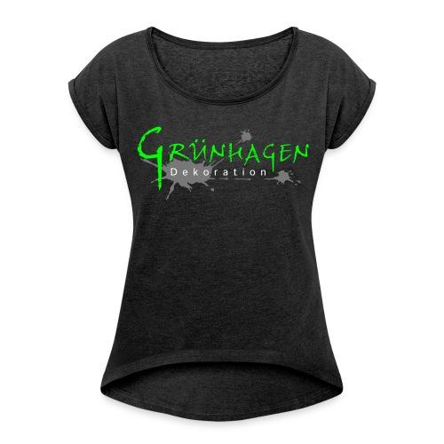 Grünhagen - Shirt (w) - Frauen T-Shirt mit gerollten Ärmeln