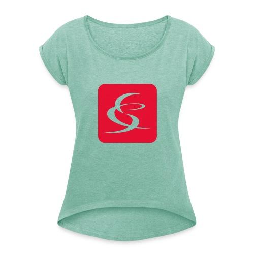 Salsa Company - Frauen T-Shirt mit gerollten Ärmeln