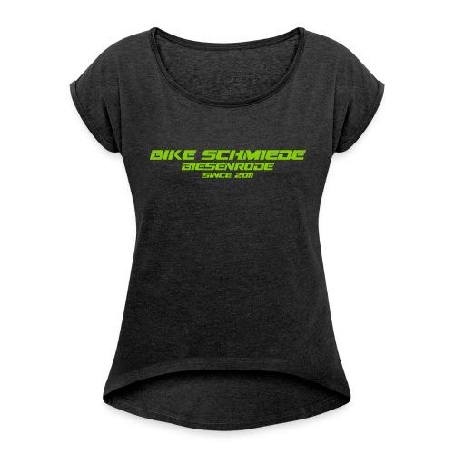 BS 2K17 Frauen T-Shirt mit gerollten Ärmeln - Frauen T-Shirt mit gerollten Ärmeln