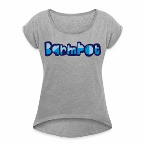 Barmpot Women's Rolled Sleeve T-Shirt - Women's T-shirt with rolled up sleeves