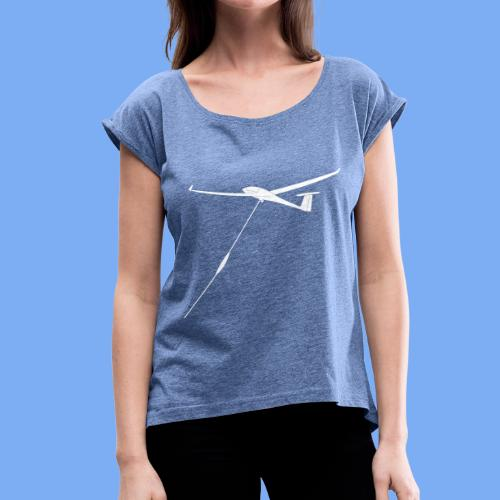 winchlaunch - Women's T-Shirt with rolled up sleeves