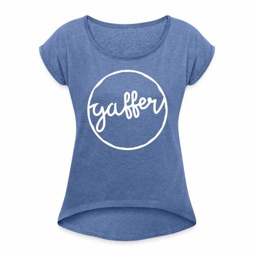Gaffer Women's Rolled Sleeves T-Shirt - Women's T-Shirt with rolled up sleeves