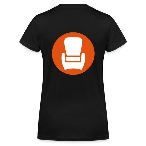 KuPa Damen T-Shirt V-Ausschnitt - Frauen Bio-T-Shirt mit V-Ausschnitt von Stanley & Stella