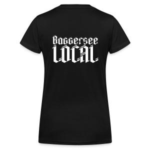 Baggersee Local - Frauen Bio-T-Shirt mit V-Ausschnitt von Stanley & Stella