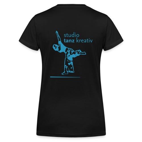 Frauenshirt V-Ausschnitt - Frauen Bio-T-Shirt mit V-Ausschnitt von Stanley & Stella