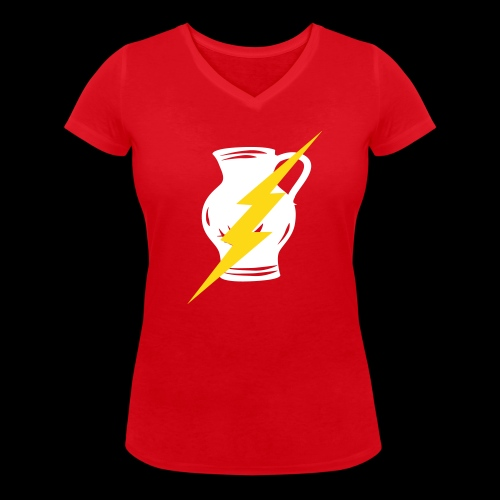 Flashbembel - Frauen Bio-T-Shirt mit V-Ausschnitt von Stanley & Stella
