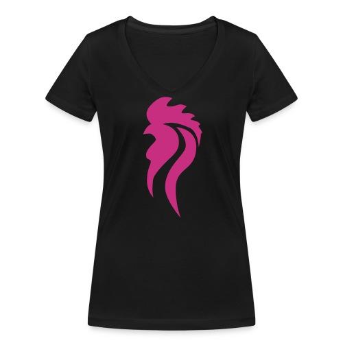 Frauen Shirt OHG - Frauen Bio-T-Shirt mit V-Ausschnitt von Stanley & Stella