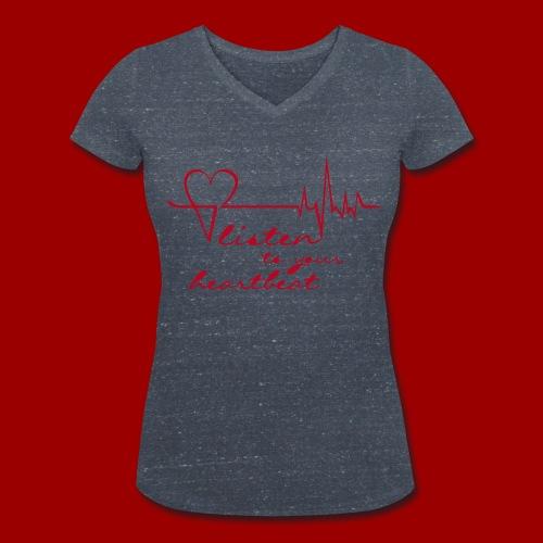 T-Shirt V-Ausschnitt HL2 (Women) - Frauen Bio-T-Shirt mit V-Ausschnitt von Stanley & Stella