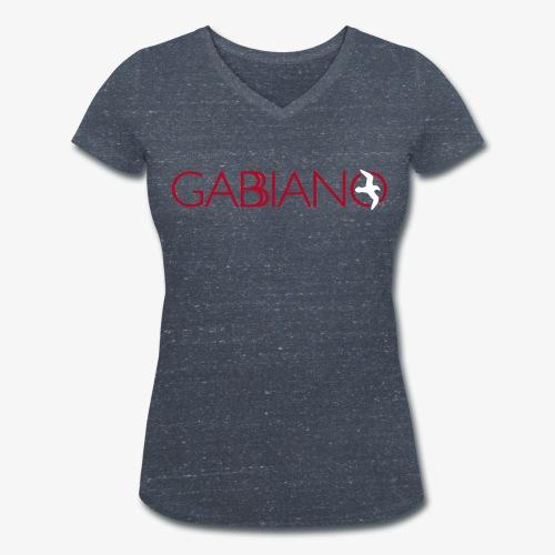 Gabbiano Nautica maglietta donna - Frauen Bio-T-Shirt mit V-Ausschnitt von Stanley & Stella