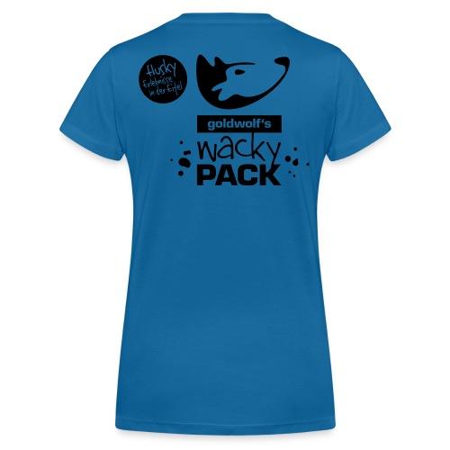 WackPack Mädels T blau - Frauen Bio-T-Shirt mit V-Ausschnitt von Stanley & Stella