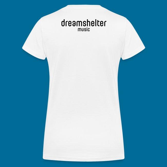 dreamshirt lady white - black