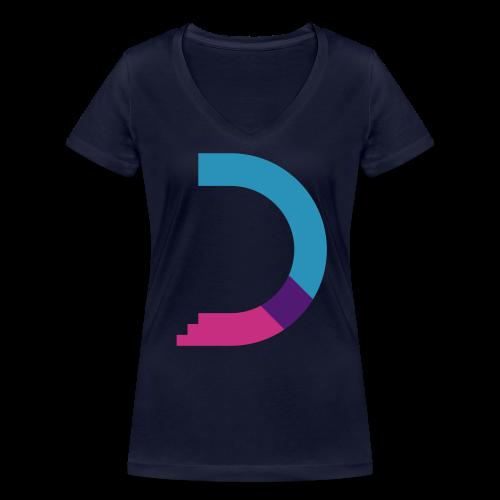 dreamshirt lady navy - color - Frauen Bio-T-Shirt mit V-Ausschnitt von Stanley & Stella