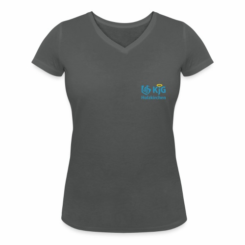 KjG Holzkirchen T-Shirt Mädls - Frauen Bio-T-Shirt mit V-Ausschnitt von Stanley & Stella