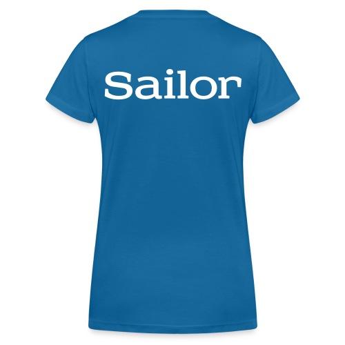 SailNow - Sailor - Frauen Bio-T-Shirt mit V-Ausschnitt von Stanley & Stella