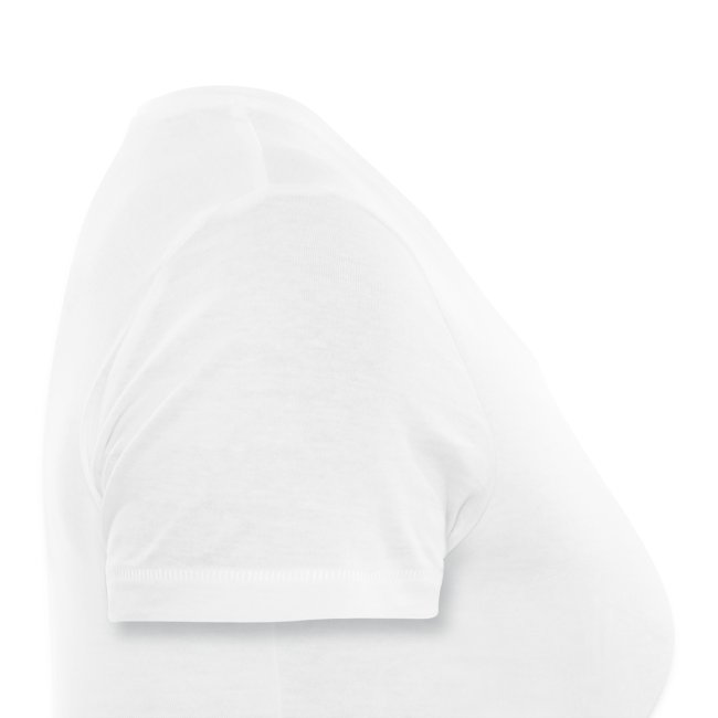 T-Shirt femme col V blanc