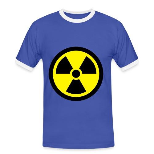 Radiactivo - Camiseta contraste hombre