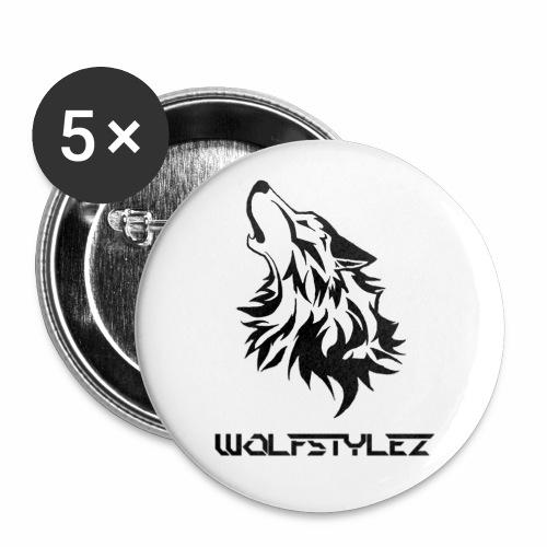 WolfstyleZ Button - Buttons mittel 32 mm (5er Pack)