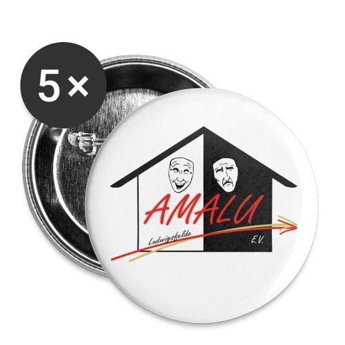 Button Amalu - Buttons groß 56 mm (5er Pack)