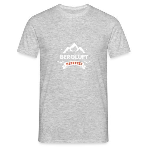 Bergluft Mauntenz - Männer T-Shirt