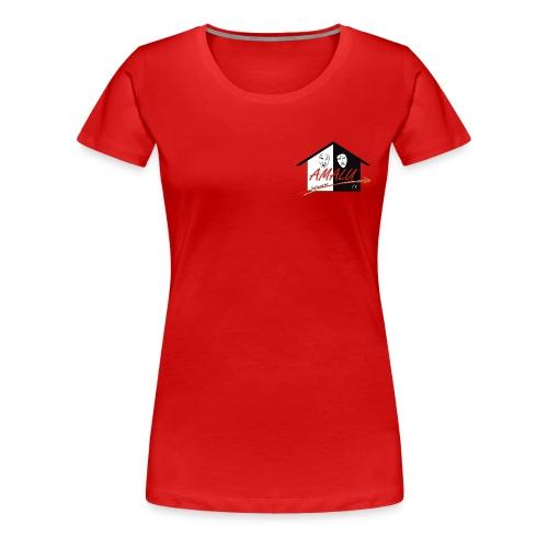 T-Shirt Damen mit Amalu Logo - Frauen Premium T-Shirt