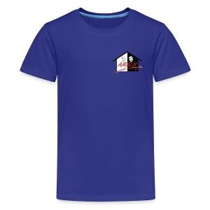 T-Shirt Kinder mit Amalu Logo - Teenager Premium T-Shirt