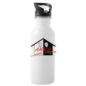 Trinkflasche mit Amalu Logo - Trinkflasche
