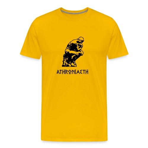 Athroniaeth / Philosophy - Men's Premium T-Shirt