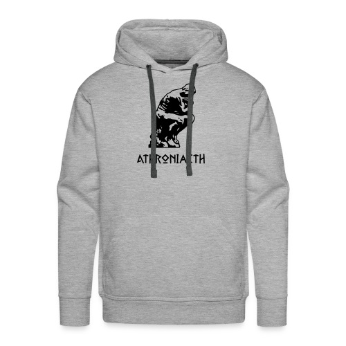 Athroniaeth / Philosophy - Men's Premium Hoodie