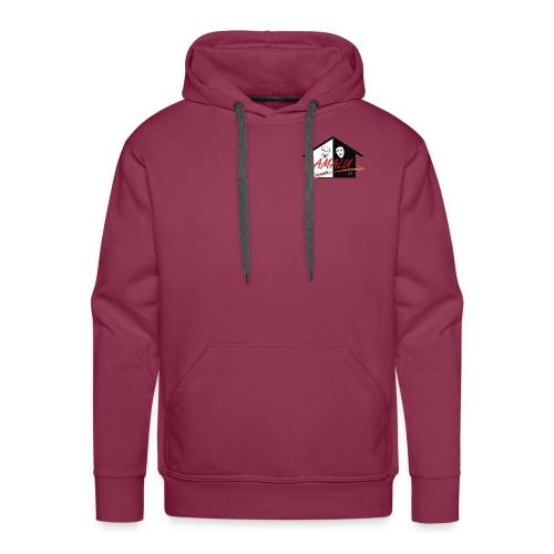 Hoodie Herren mit Amalu Logo - Männer Premium Hoodie