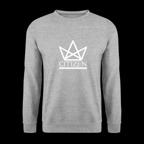 Citizen Big Logo Sweatshirt - Grey - Men's Sweatshirt