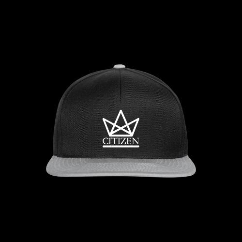 Citizen Logo Snapback - Black/Grey - Snapback Cap