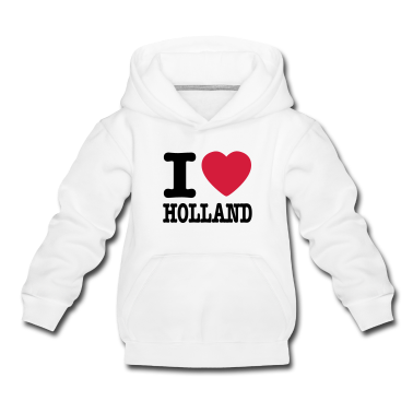 Light heather grey i love holland EN Kids' Tops