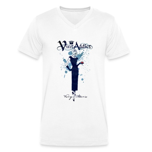 VintAddict Drink Woman - T-shirt bio col V Stanley & Stella Homme