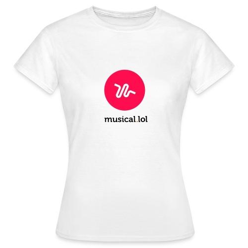 T-shirt Femme - Musical.lol - T-shirt Femme