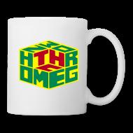 Mugs & Drinkware ~ Mug ~ Homegrown [THC] Cube (rot/gelb/grün) Tasse