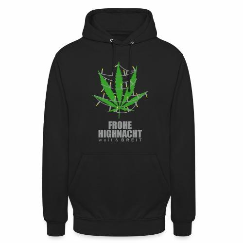 Frohe HighNacht - Hoodie - Unisex Hoodie