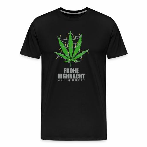 Frohe HighNacht - T-Shirt - Männer Premium T-Shirt