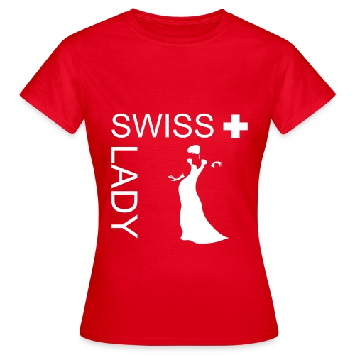 Swiss Lady T-Shirt - Frauen T-Shirt