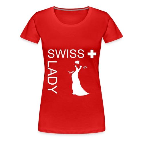 Swiss Lady T-Shirt - Frauen Premium T-Shirt