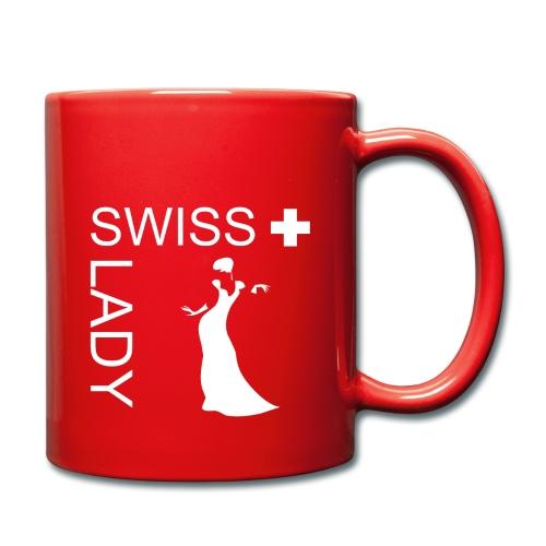 Tasse mit schönem Schweiz-Design - Tasse einfarbig