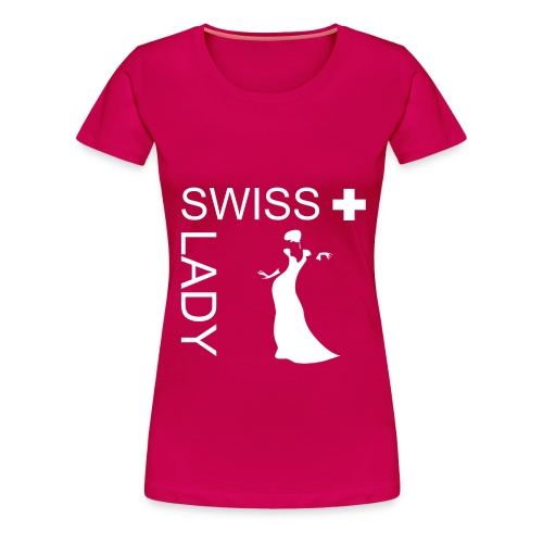 Swiss Lady T-Shirt - Frauen Premium T-Shirt