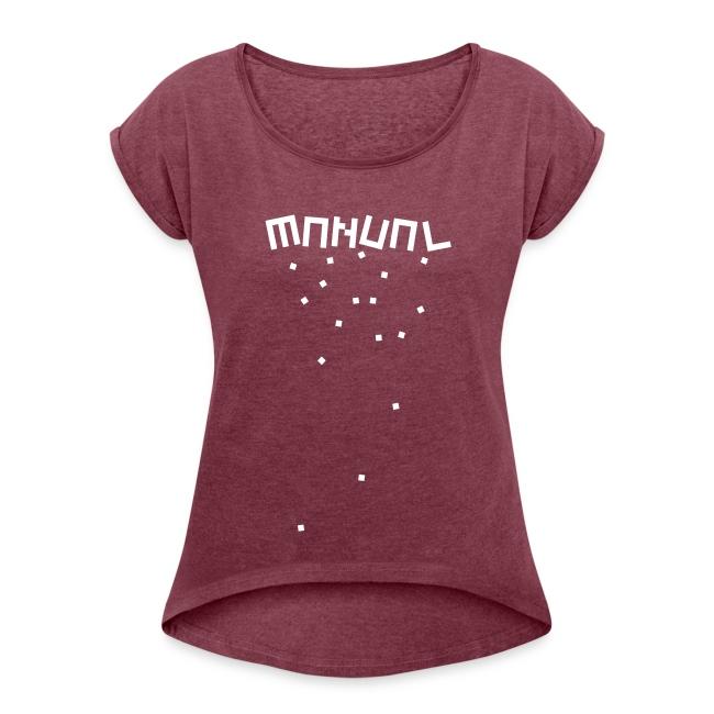 Manual 'Blocks' T-Shirt Female
