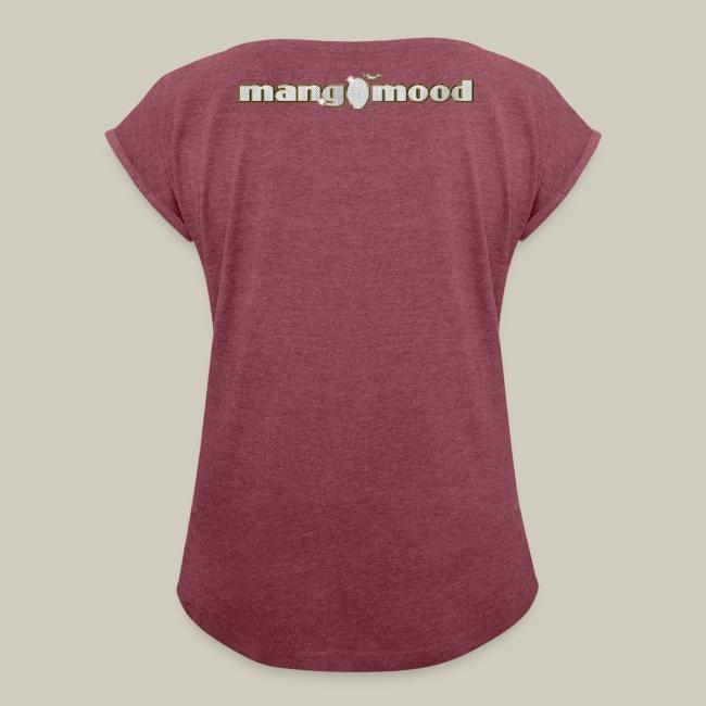 """Frauen T-Shirt mit gerollten Ärmeln """"Urban SoulFunk Super Grooves"""""""