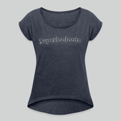 Superloolooote - T-shirt à manches retroussées Femme
