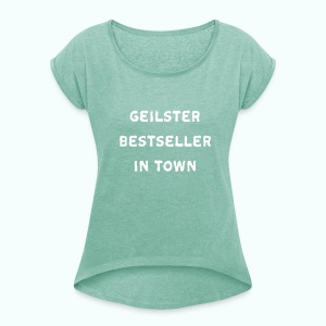 BESTSELLER  T-Shirts - Women's T-shirt with rolled up sleeves